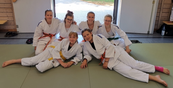 Ippon Girls Lehrgang am Bodensee
